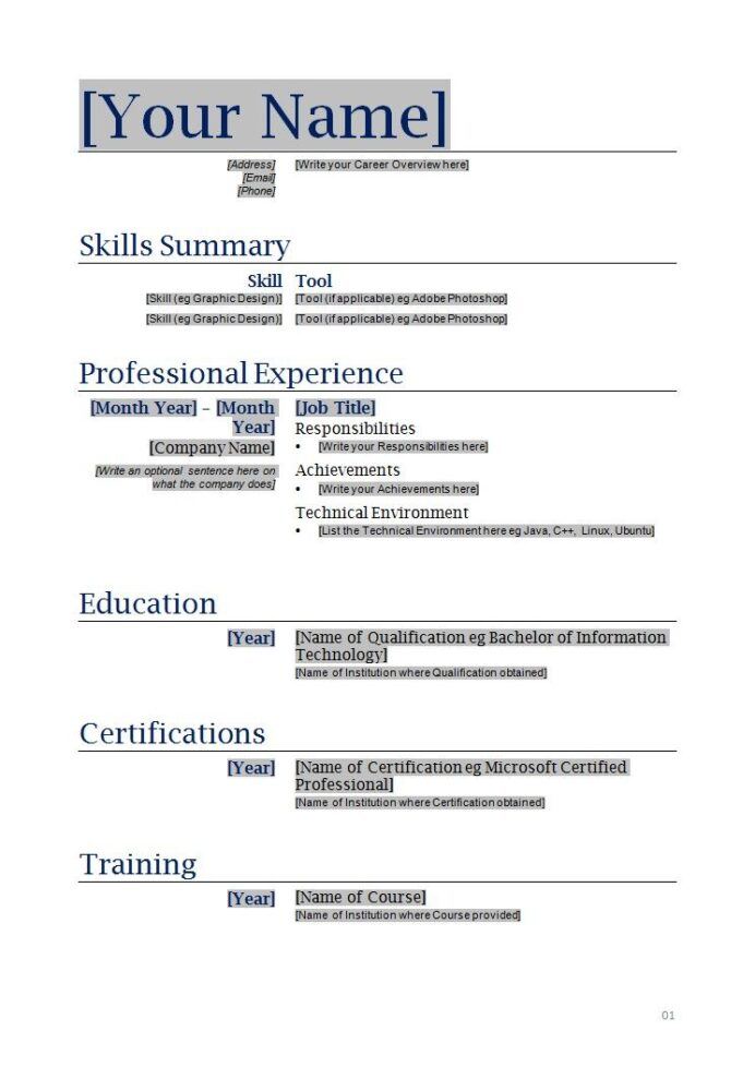 free blanks resumes templates posts related to blank functional resume printable template Resume Do A Resume For Free
