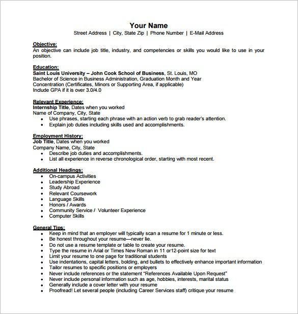free business resume templates news kelley school of international pdf with salary Resume Kelley School Of Business Resume