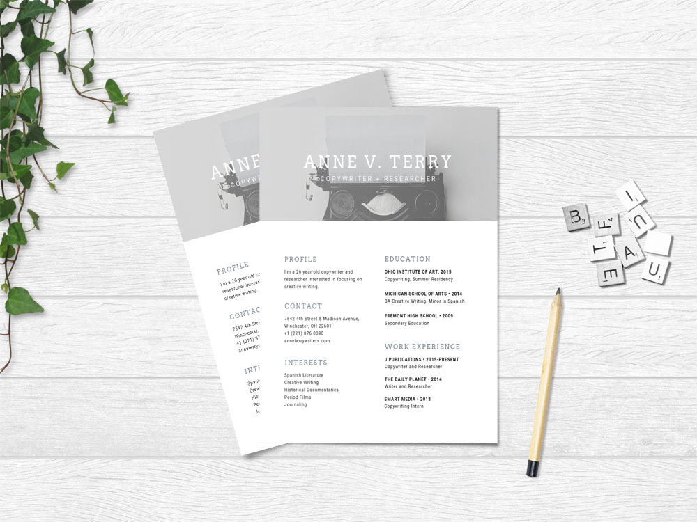 free copywriter resume template with simple and modern look creative templates london Resume Creative Copywriter Resume Templates