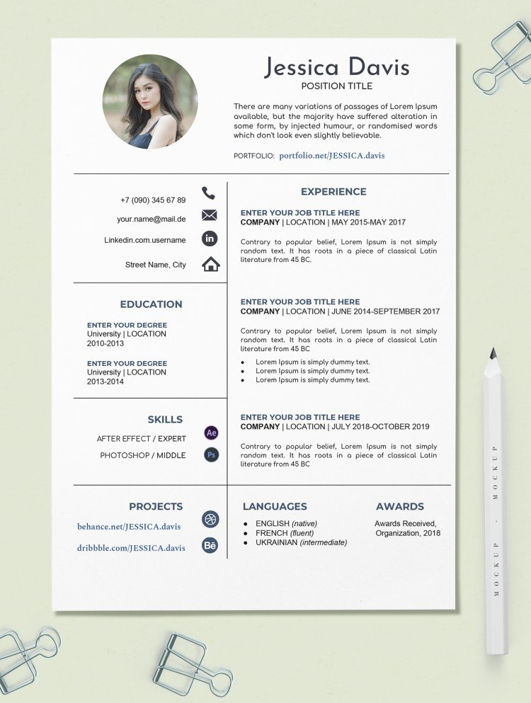 free creative resume template in google docs templates canva executive director examples Resume Google Docs Templates Resume Free