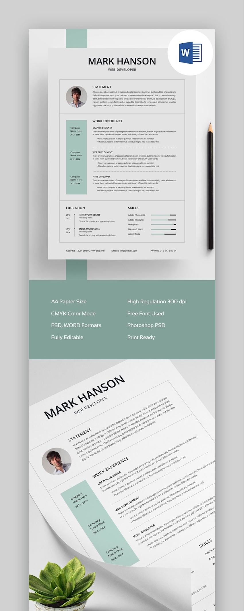 free creative resume templates word downloads for eye catching env clean template final Resume Eye Catching Resume Templates Free