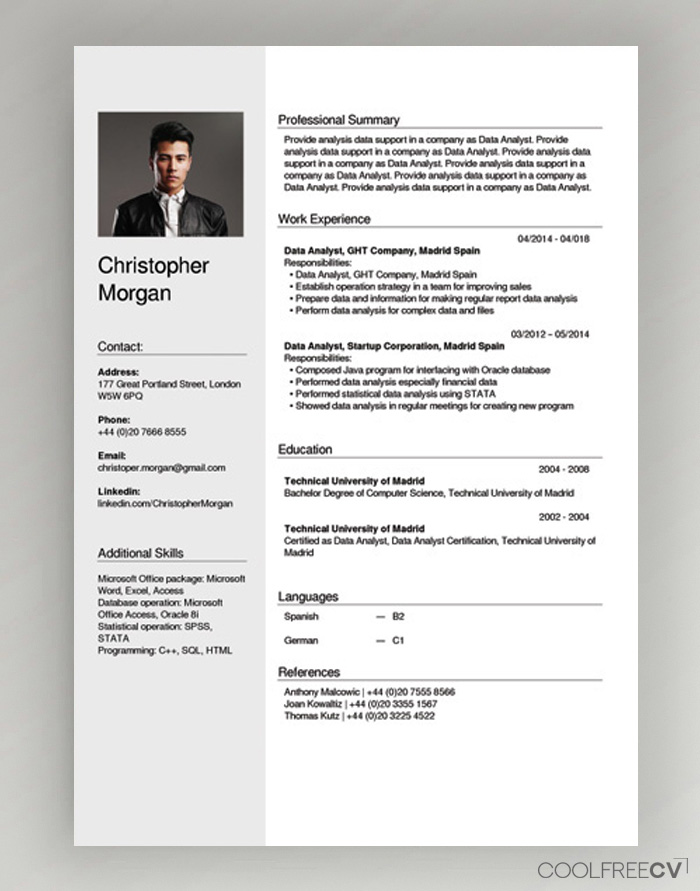 free cv creator maker resume builder pdf generator areas of growth for and letter intent Resume Resume Generator Online Free