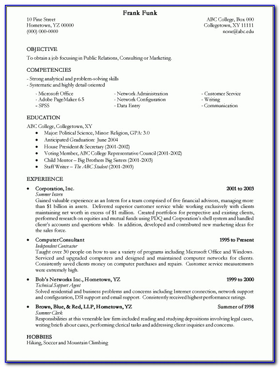 free job resume examples vincegray2014 college proper way to make aerospace engineering Resume College Resume Examples 2020