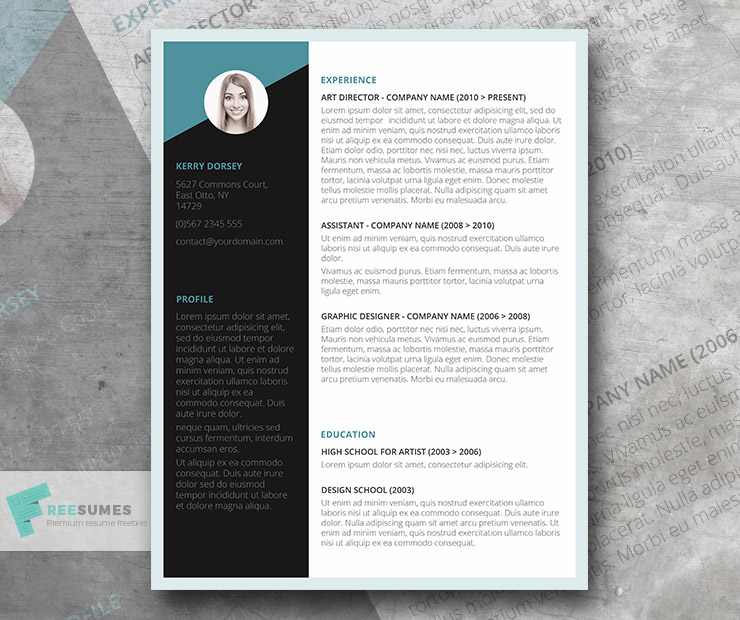 free job winning resume template instant freesumes company templates high school graduate Resume Free Company Resume Templates