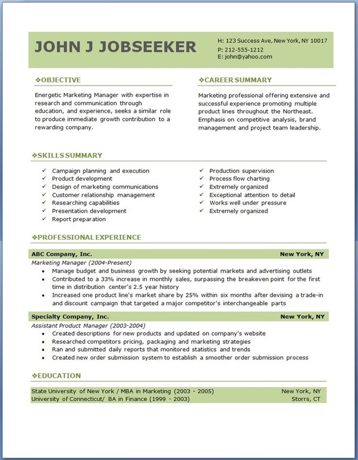 free professional resume templates cv example format template pediatric rn examples Resume Resume Format Template Free Download