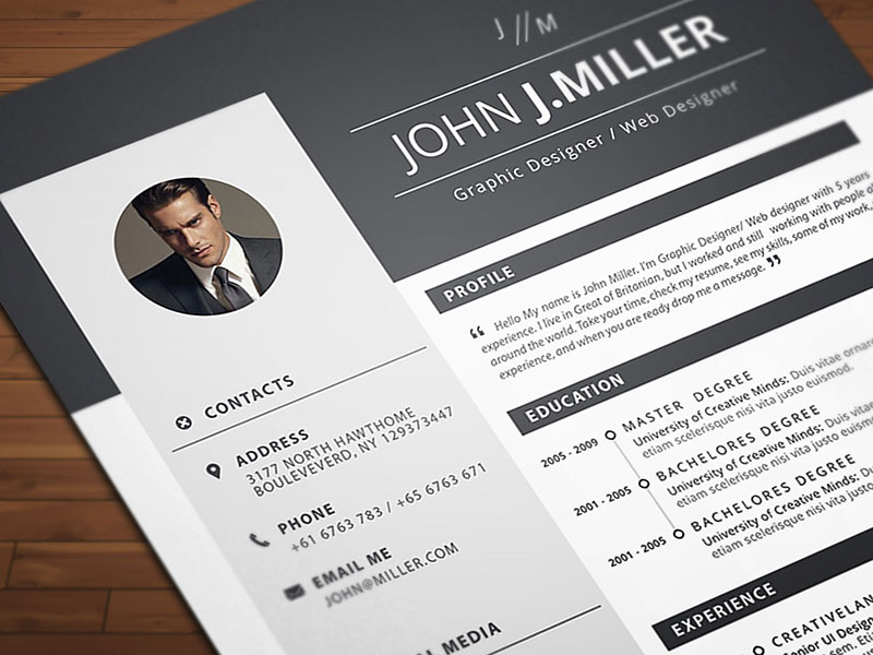 free resume cv template for ms word format good in ppc ceo templates training counselor Resume Resume Format Template Free Download