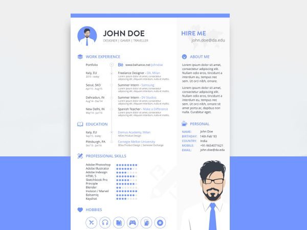 free resume cv templates in sketch format resumekraft template 600x450 asse ol with photo Resume Sketch 3 Resume Template