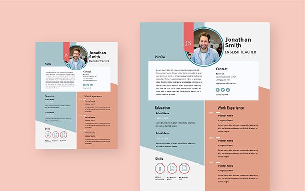 free resume maker create professional visme creative two sided entry level software Resume Creative Resume Maker Online Free Download