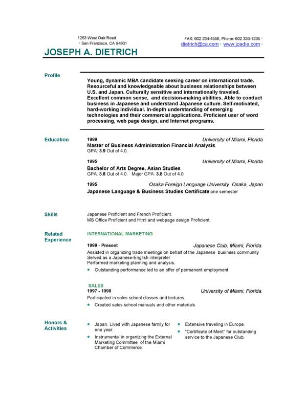 free resume template downloads easyjob builder for college students of templates heavy Resume Free Resume Builder For College Students