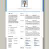 Free Resume Templates For Freshers