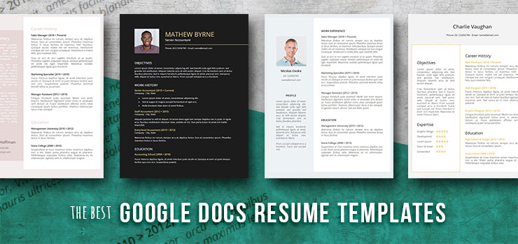 free resume templates for google docs freesumes best template investment manager creative Resume Google Docs Best Resume Template