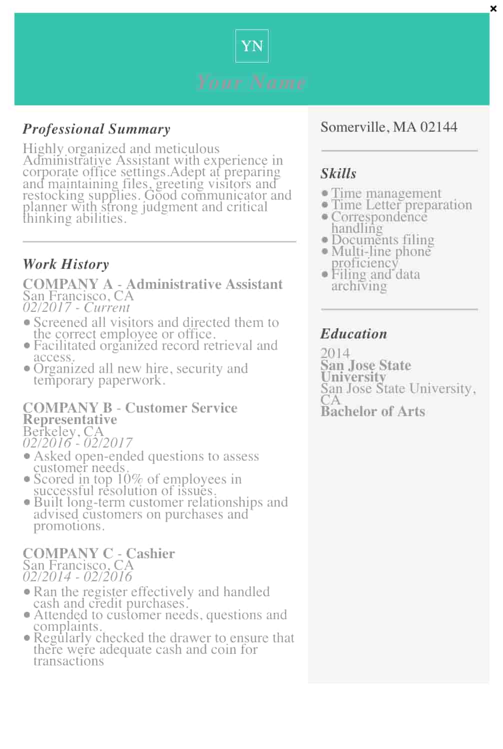 free resume templates for microsoft word to make your own template term employment screen Resume Free Resume Template For Long Term Employment
