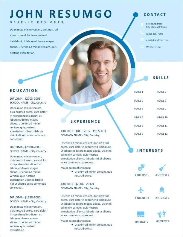 free resume templates for to now eye catching new customer service experience objective Resume Eye Catching Resume Templates Free