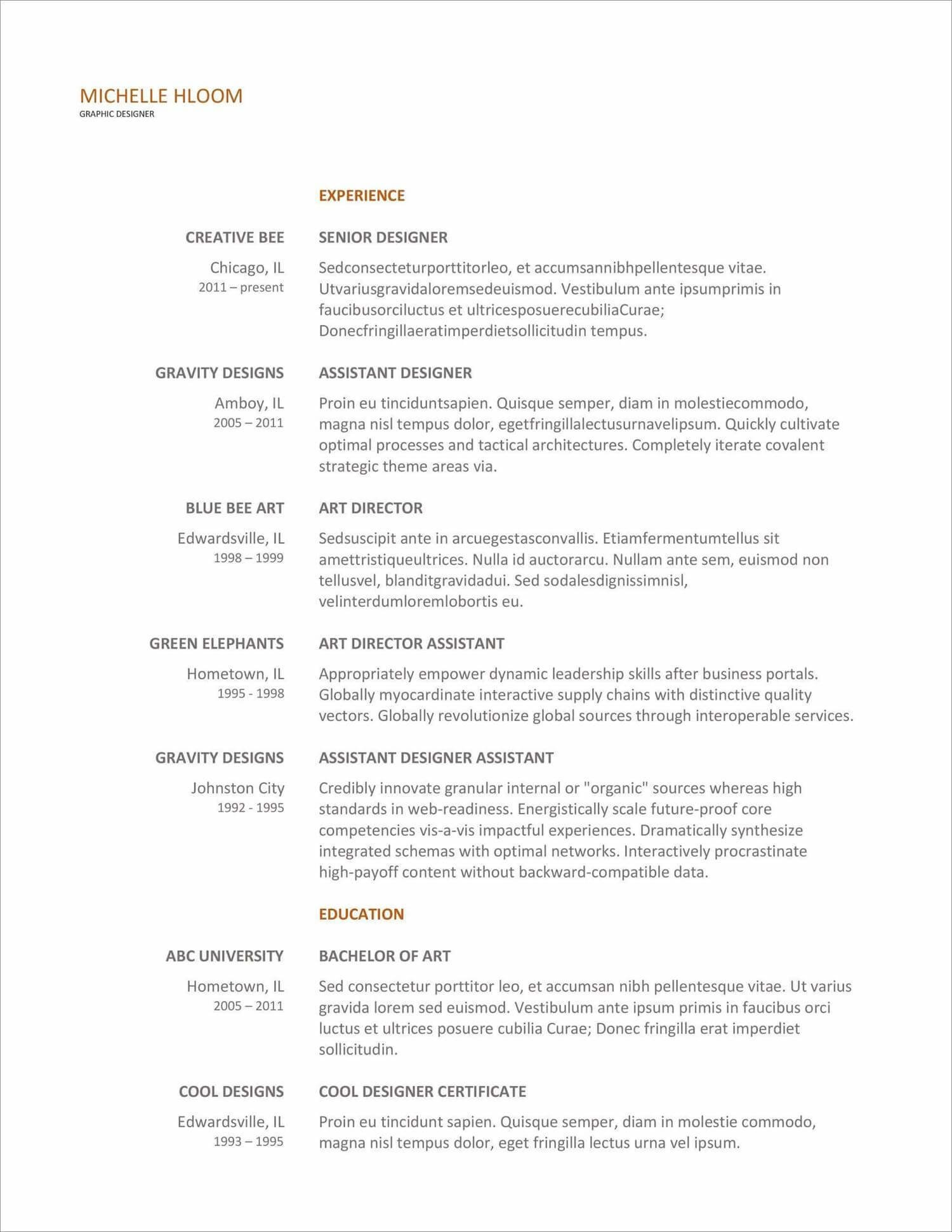 free resume templates for to now format template new chick fil investment banking itil Resume Resume Format Template Free Download