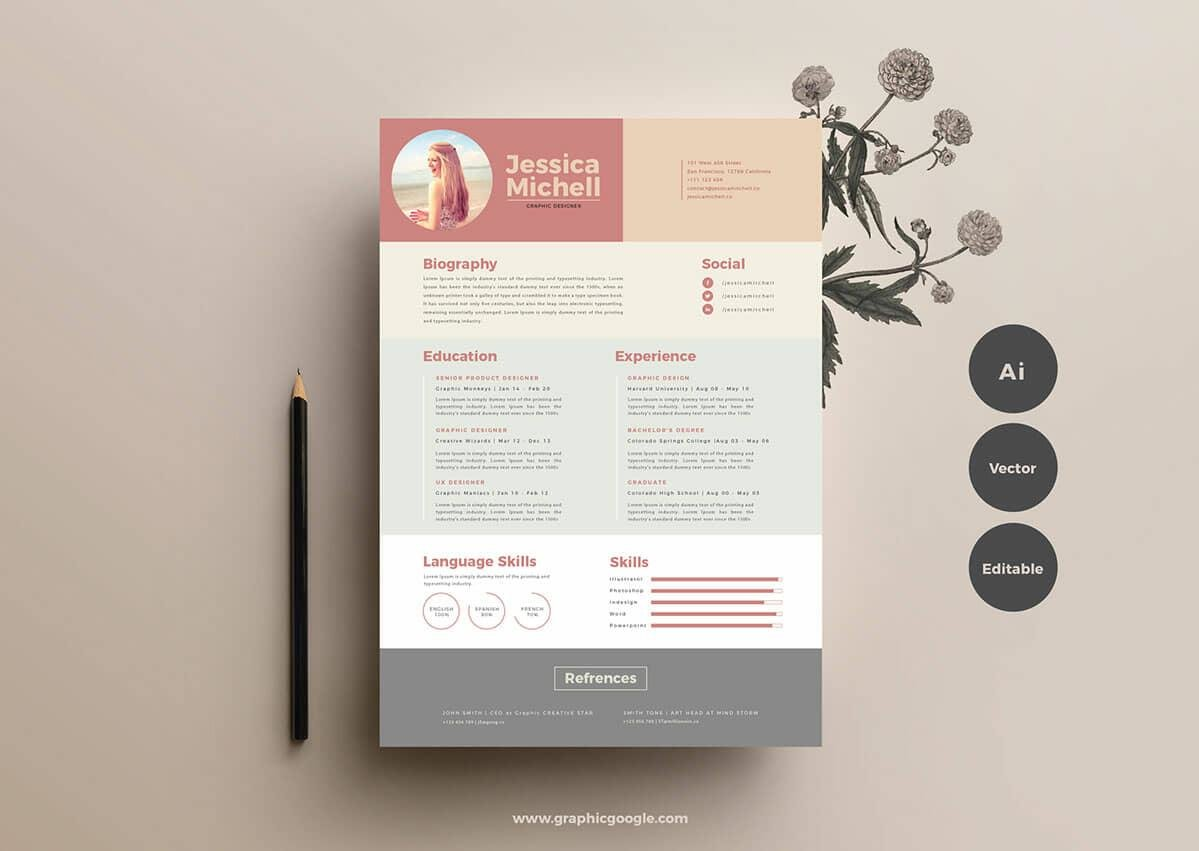 free resume templates for to now millennial format good color schemes profile examples Resume Millennial Resume Format