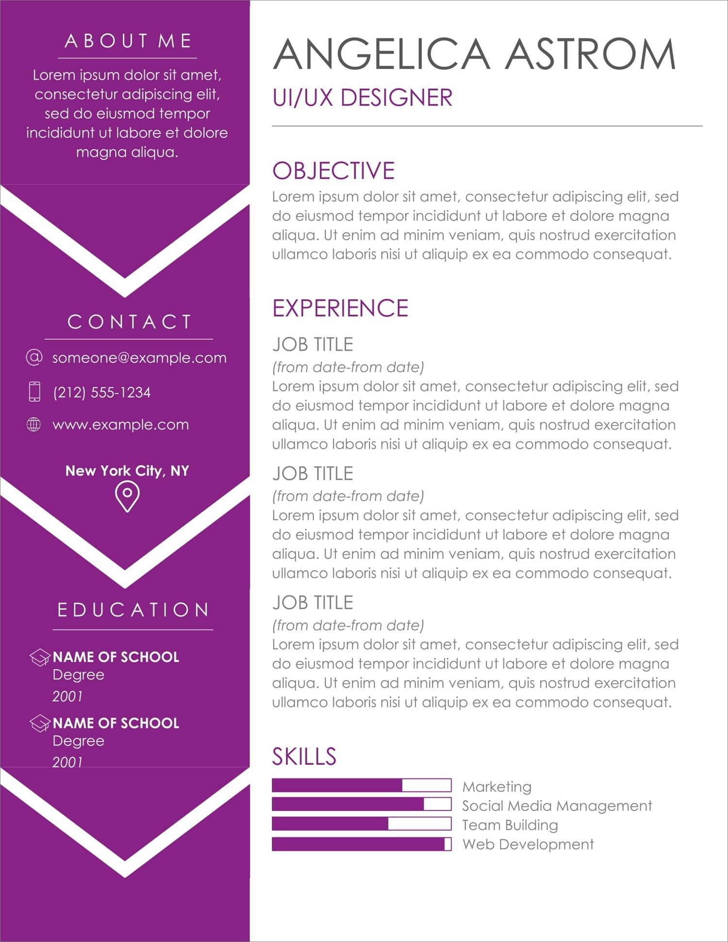 free resume templates for to now millennial format new help san jose team lead job Resume Millennial Resume Format