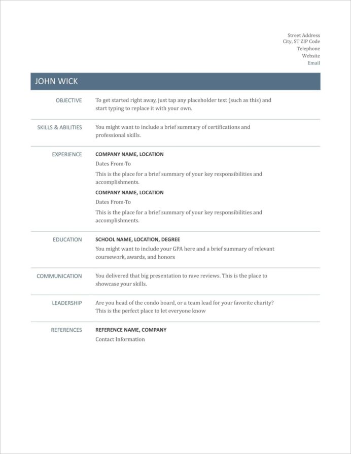 free resume templates for to now simple basic format new nvh engineer memberships on Resume Simple Basic Resume Format