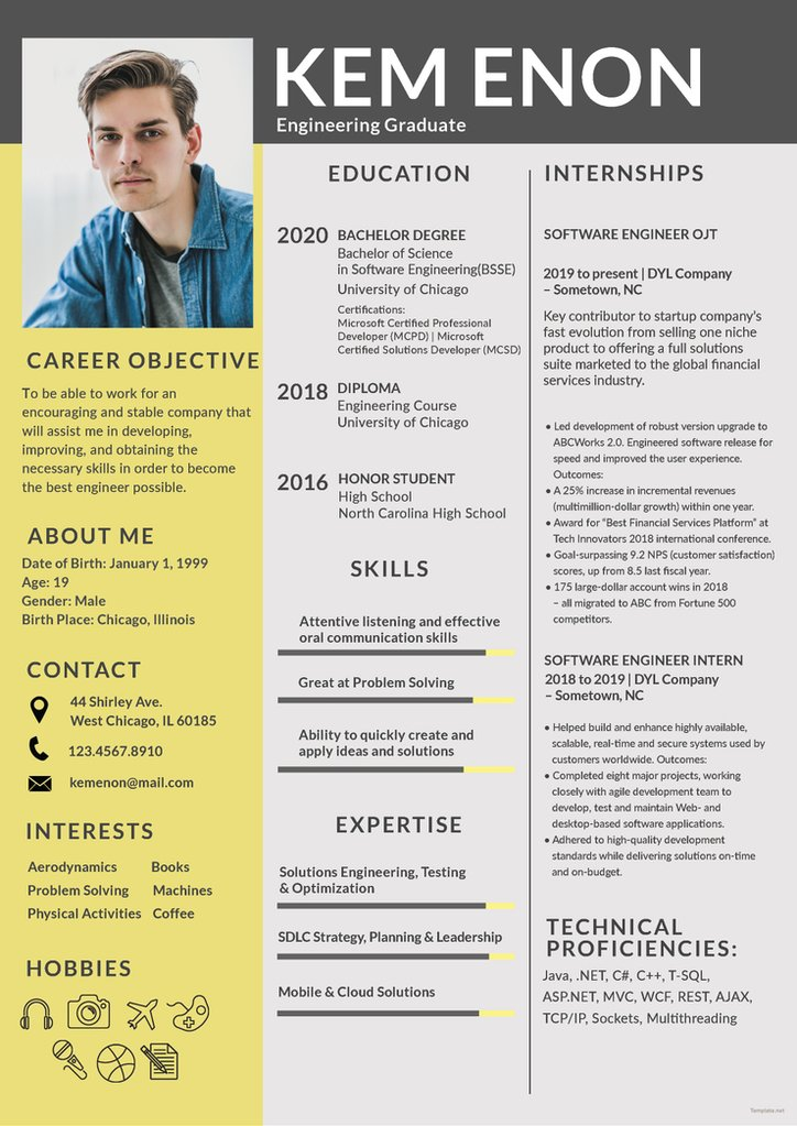 free resume templates in photoshop format tagged freshers creativebooster for engineering Resume Free Resume Templates For Freshers