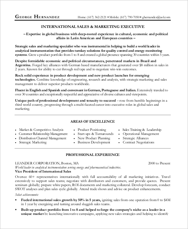 free sample manager resume templates in ms word pdf template marketing and technical Resume Sales Manager Resume Template