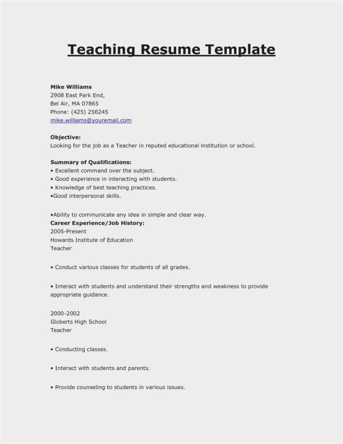 free sample resume for teachers pdf should have references unit clerk example Resume Free Sample Resume For Teachers