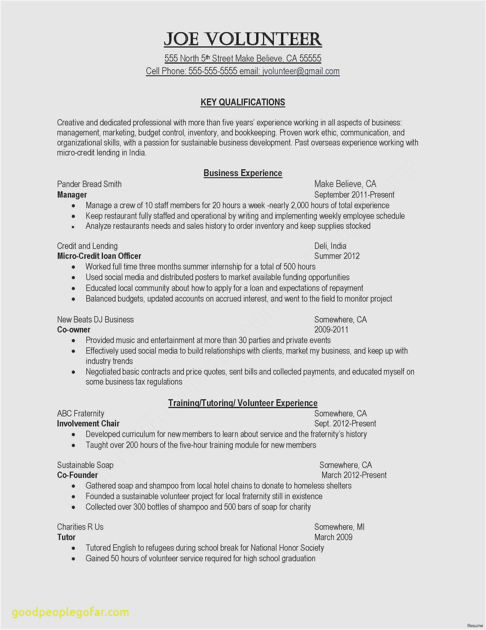 free sample warehouse worker resume examples for kindergarten teacher with experience Resume Resume Examples For Warehouse Worker
