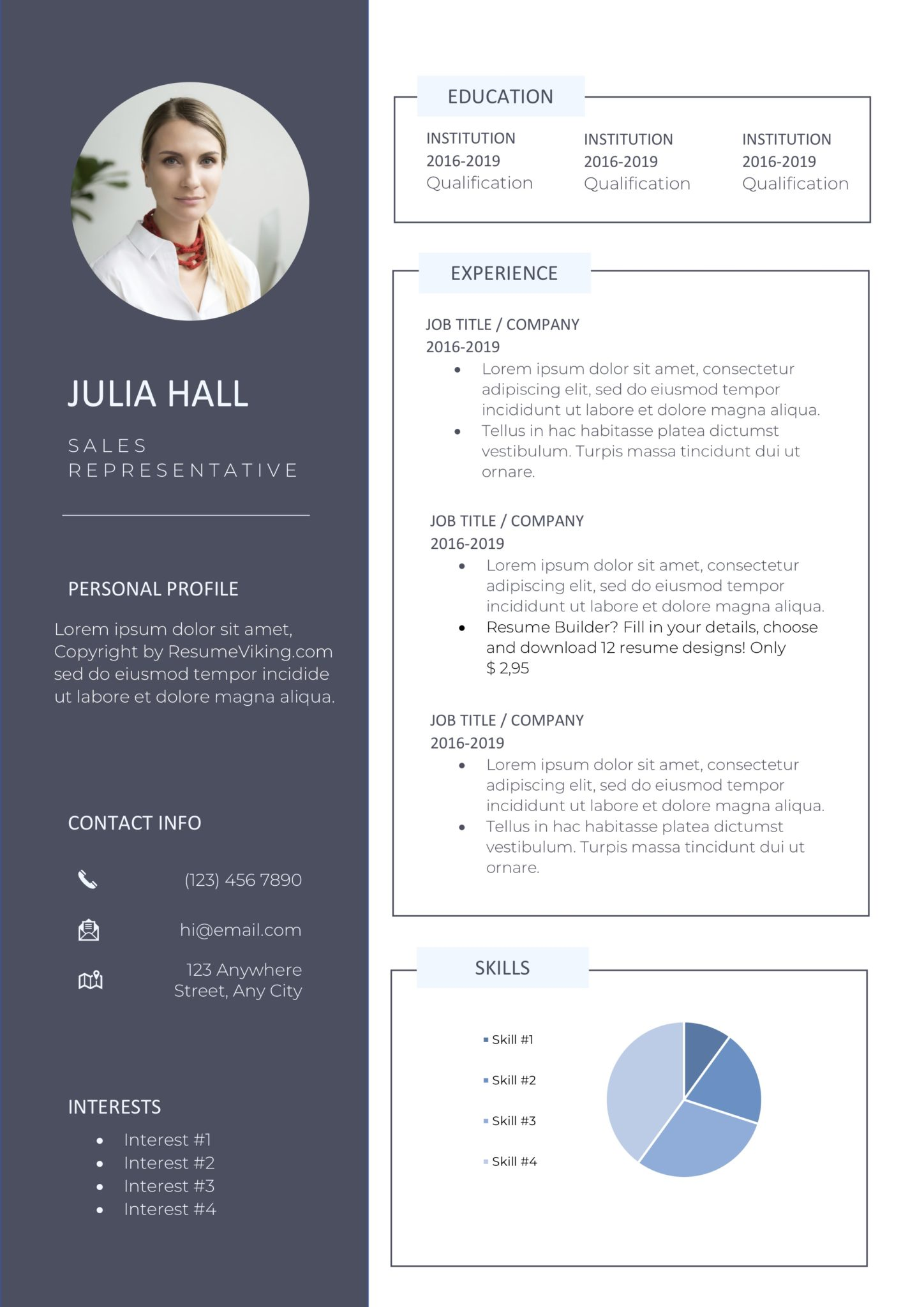 free word resume templates in ms personal template resumeviking scaled delivery driver Resume Personal Resume Template Free