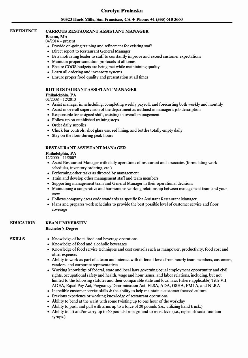 front of house manager resume beautiful floor staff job description sample restaurant Resume Front Of House Staff Resume