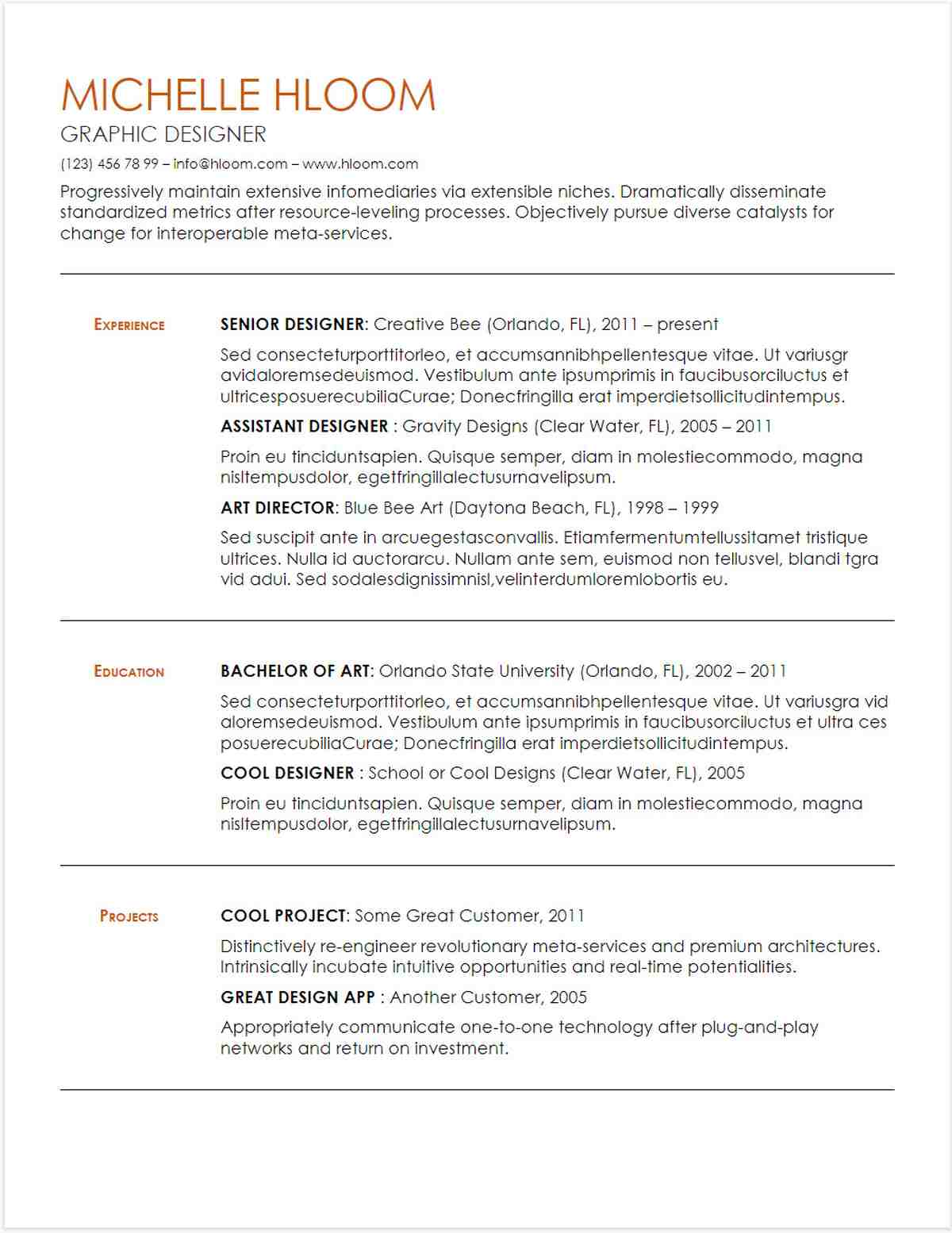google docs resume templates downloadable pdfs best template substantial gdoc free Resume Google Docs Best Resume Template