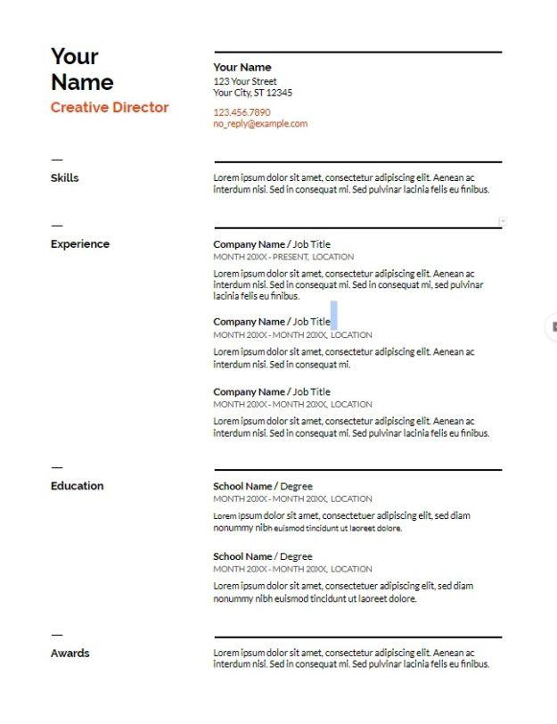google docs resume templates downloadable pdfs template free beautiful cpa candidate Resume Beautiful Google Doc Resume Template Free