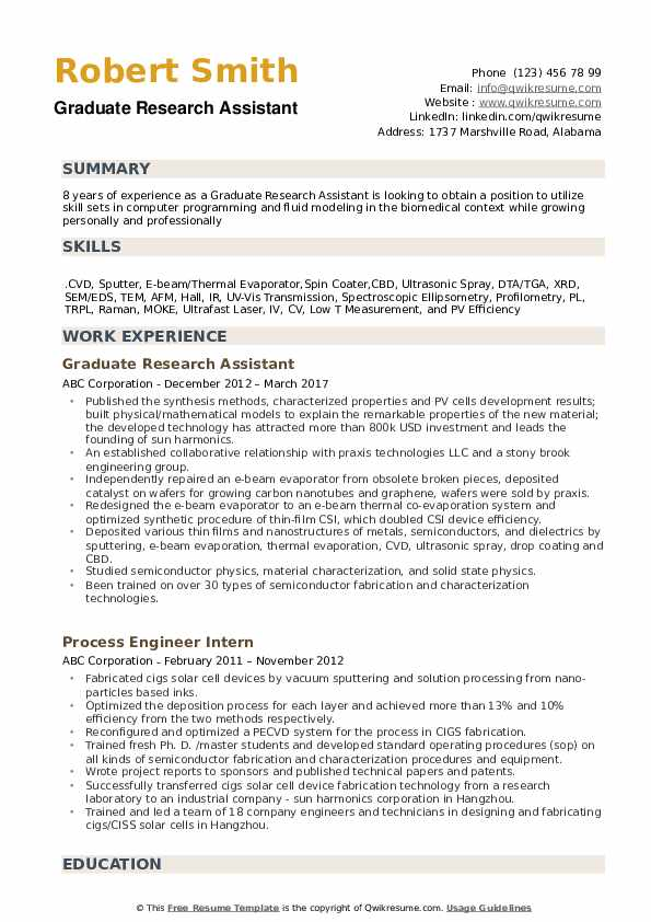 graduate research assistant resume samples qwikresume pdf english teacher experience call Resume Research Assistant Resume