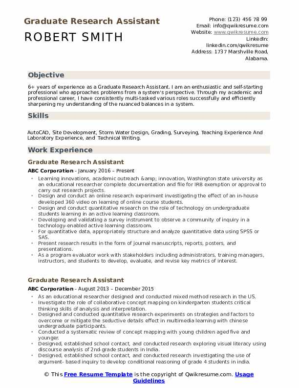 graduate research assistant resume samples qwikresume pdf modern format call center Resume Research Assistant Resume