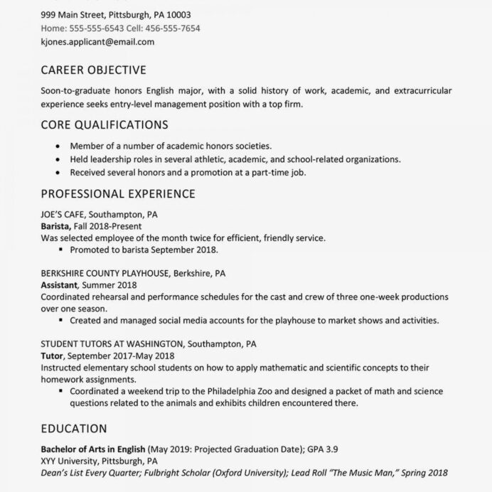 graduate school resume template for admissions addictionary objective amazing highest Resume Amazing Objective For Resume