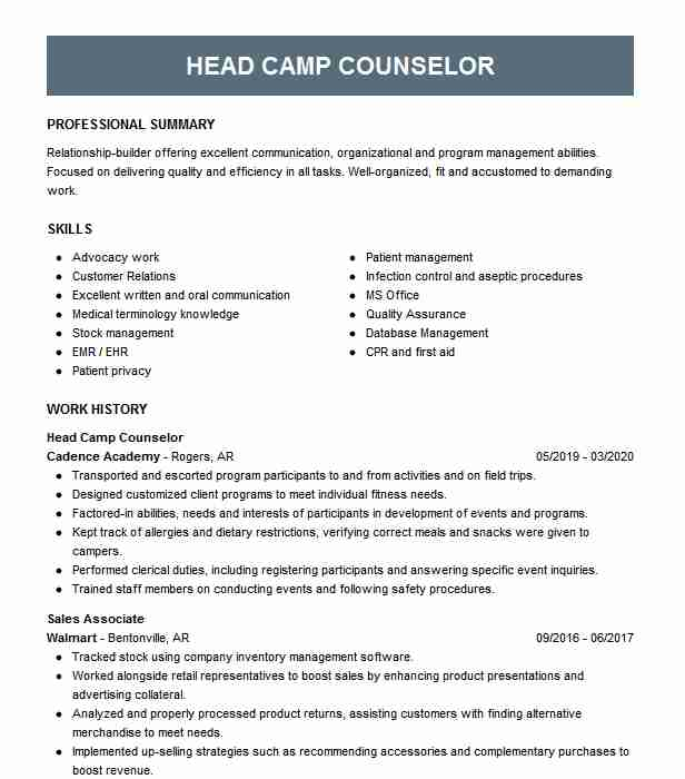 head chef boss resume example company name lawrenceville catering marketing Resume Catering Camp Boss Resume