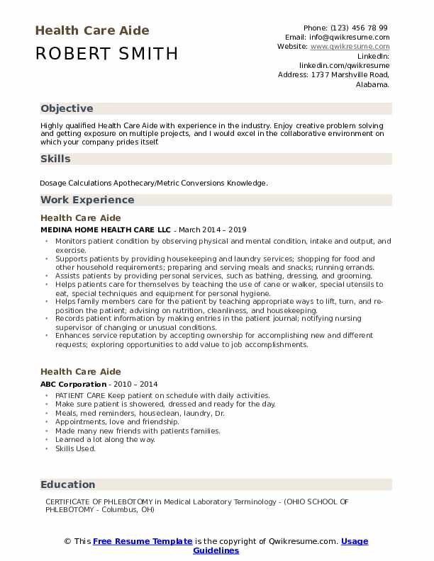 health care aide resume samples qwikresume skills for pdf microsoft office templates good Resume Health Care Skills For Resume