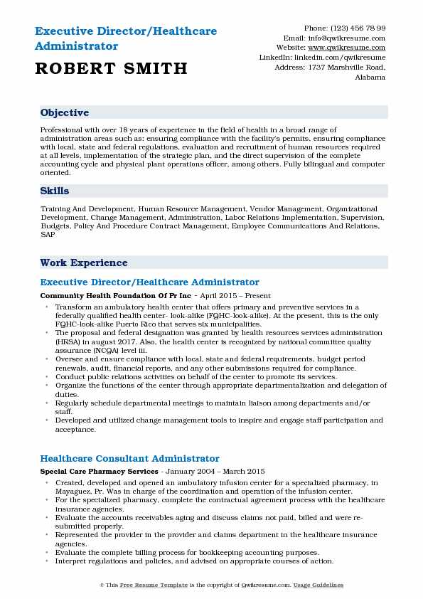 healthcare administrator resume samples qwikresume good objectives for pdf vdi Resume Good Resume Objectives For Healthcare