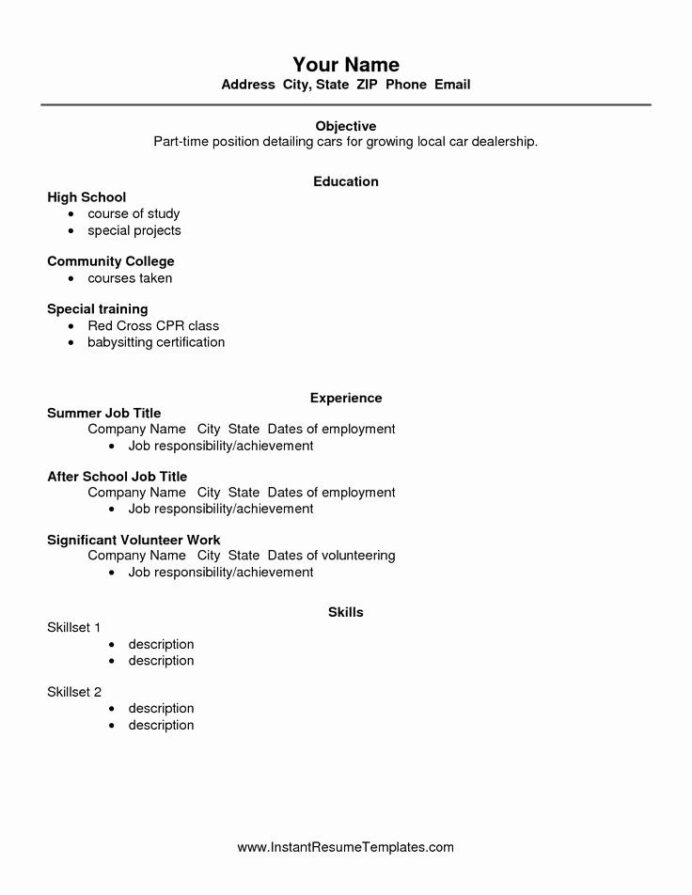high school resume builder beautiful best ideas about free on student template for Resume Resume Builder For Students