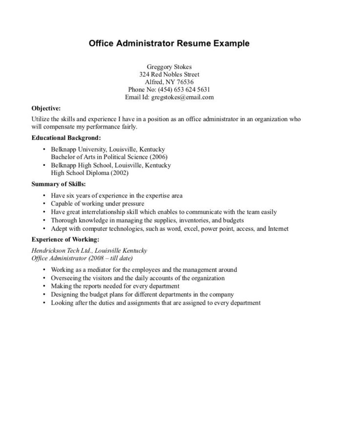 high school student resume with work experience sample examples template best format for Resume High School Student Resume With Work Experience