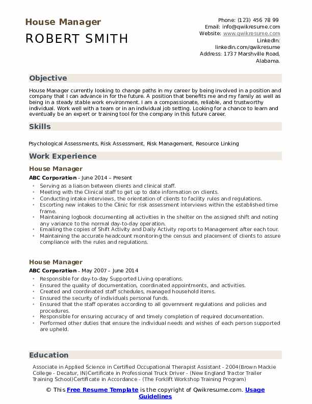 house manager resume samples qwikresume estate example pdf experienced attorney with Resume Estate Manager Resume Example