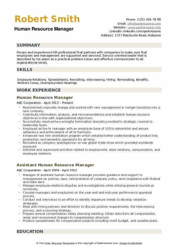 human resources director resume sample linkedin review say perfectionist synonym for food Resume Perfectionist Synonym For Resume