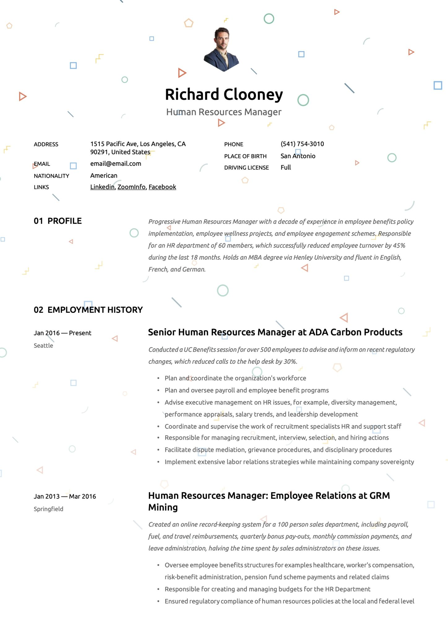 human resources manager resumes guide resource management resume example scaled casac Resume Resource Management Resume Example
