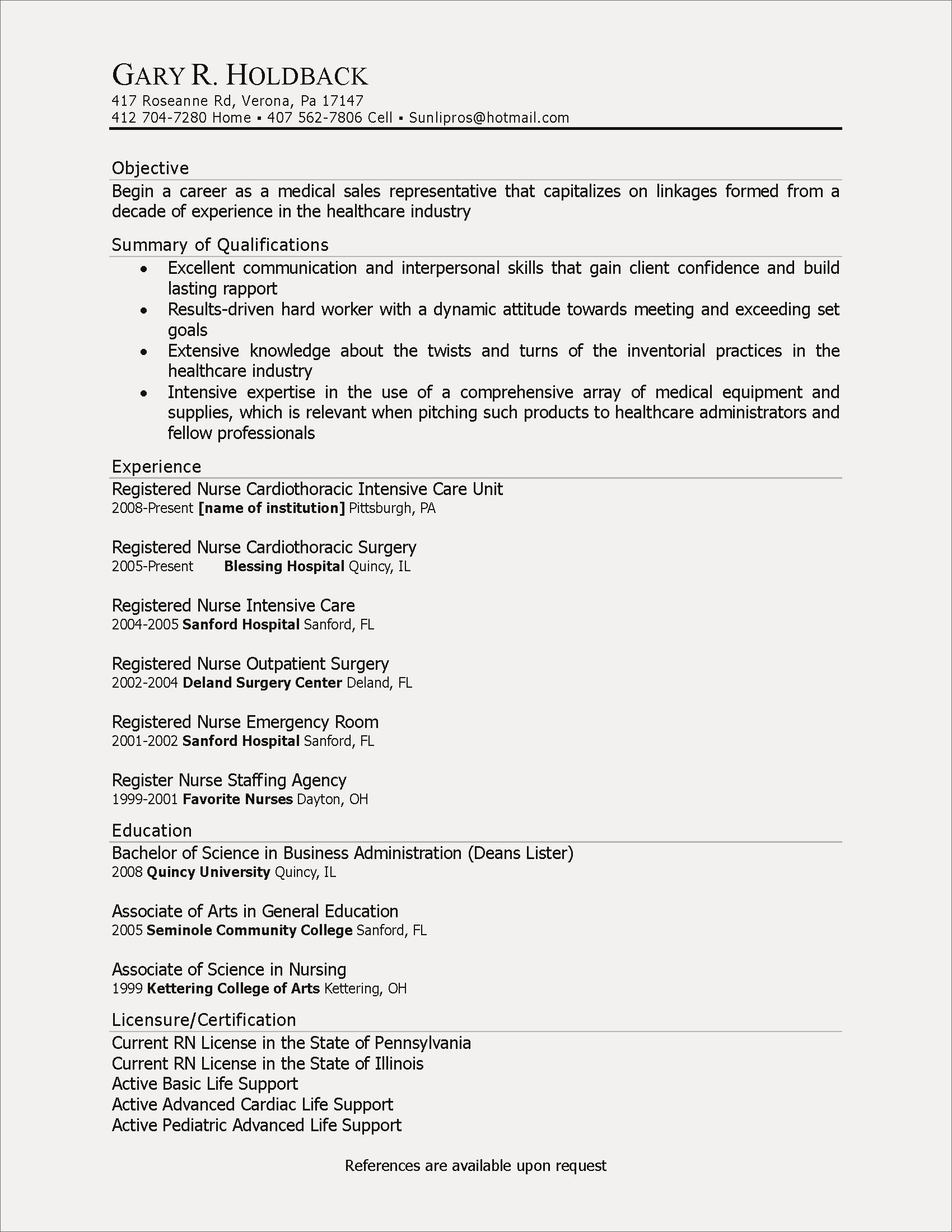 inspiring images of resume sample for enrolled nurse check more at https objective Resume Nursing Goals And Objectives For Resume