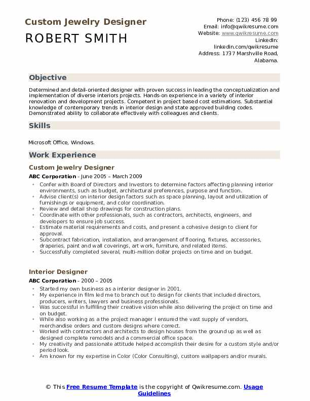 interior designer resume samples qwikresume design examples pdf harvard format for Resume Interior Design Resume Examples