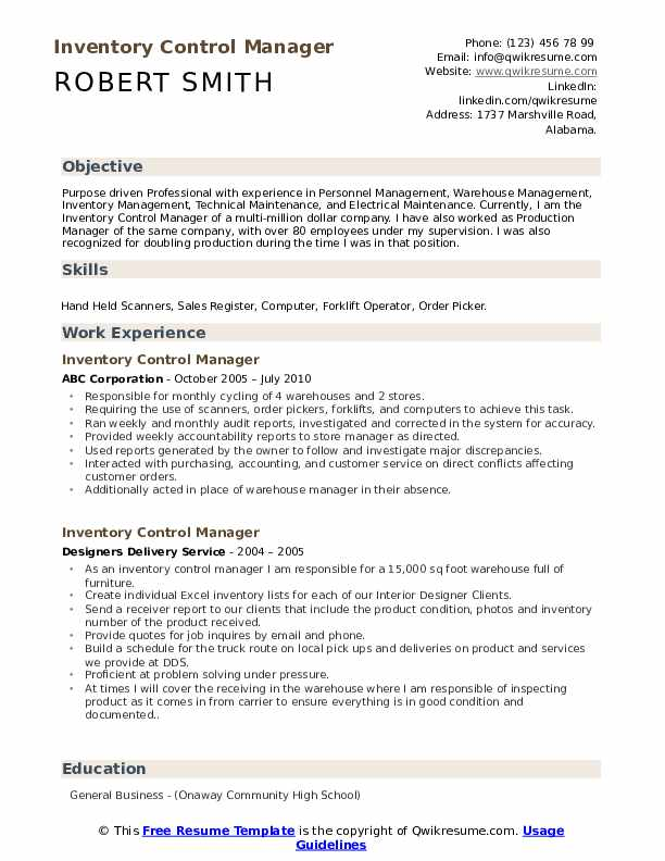 inventory control manager resume samples qwikresume pdf foreign exchange trading Resume Inventory Manager Resume