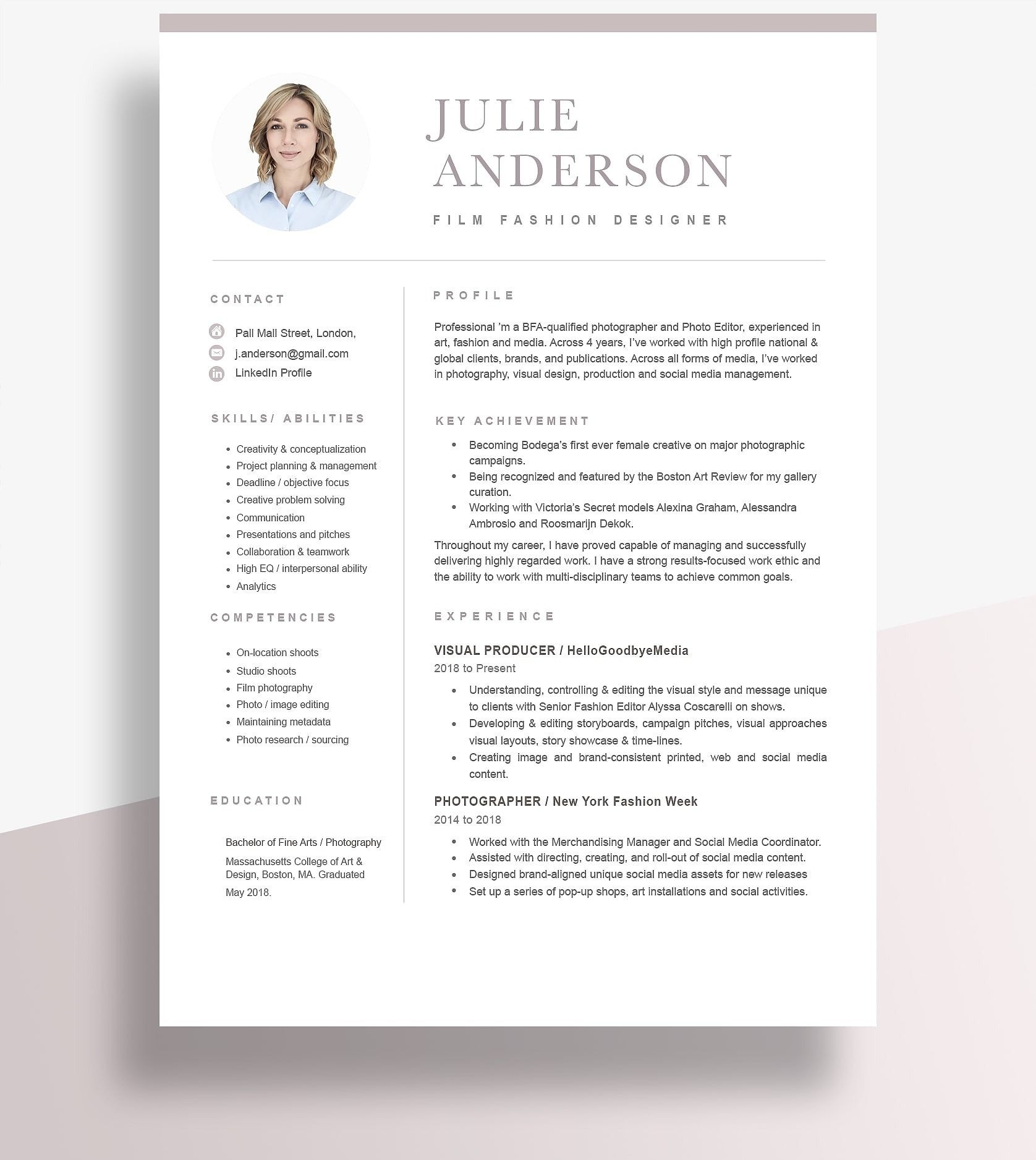 is the best resume format for examples resumeway modern template style oral billeting Resume Best Resume Style 2020