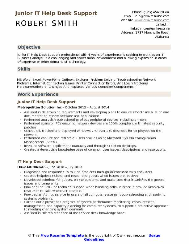 it help desk support resume samples qwikresume supports sample pdf mechanic human Resume It Supports Resume Sample