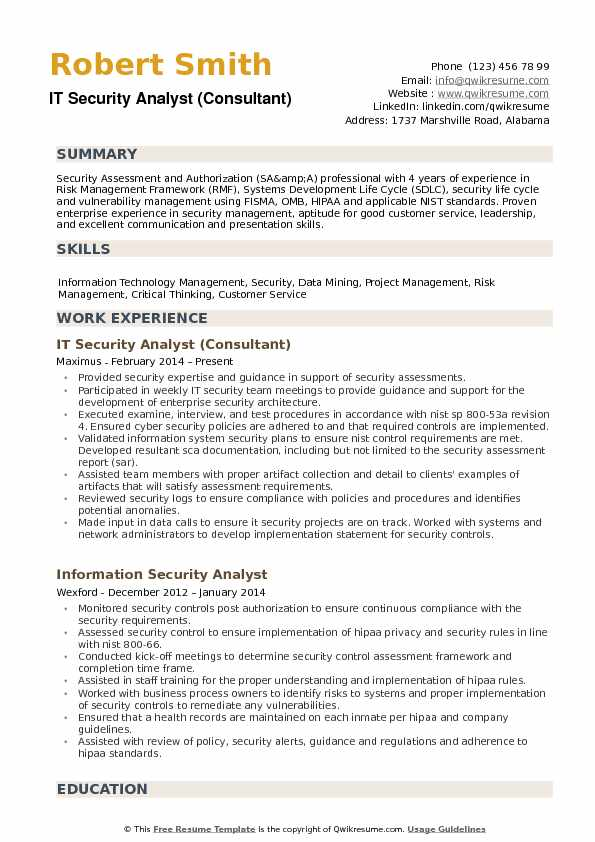 it security analyst resume samples qwikresume template pdf examples for maintenance Resume Security Analyst Resume Template