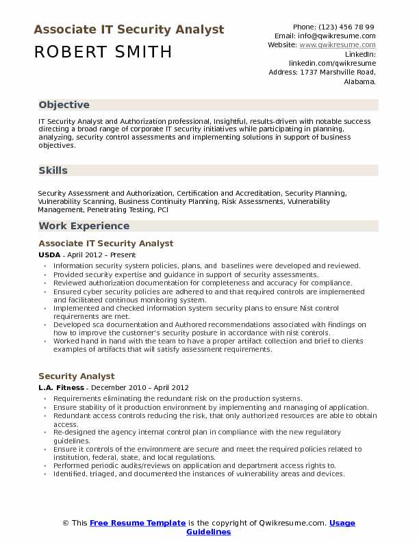 it security analyst resume samples qwikresume template pdf usc caregiver objectives Resume Security Analyst Resume Template