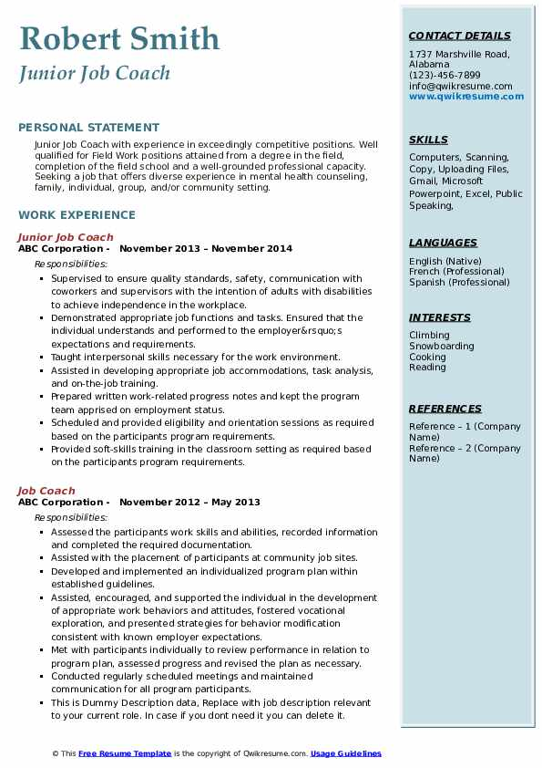 job coach resume samples qwikresume objective for coaching pdf assistant project manager Resume Objective For Coaching Resume
