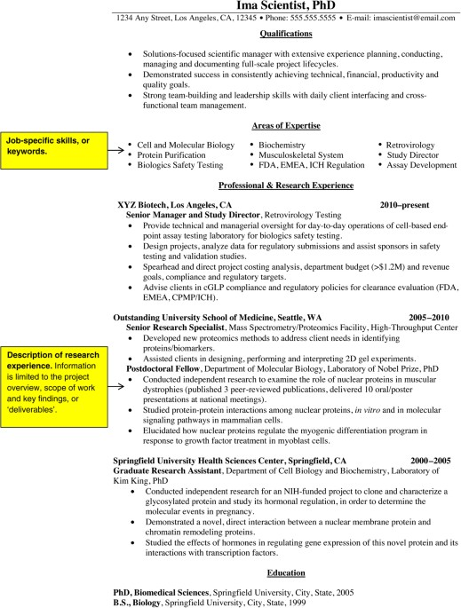 job search basics to convert cv into resume nature immunology article bfni2453 fig1 Resume Convert Resume To Cv Online