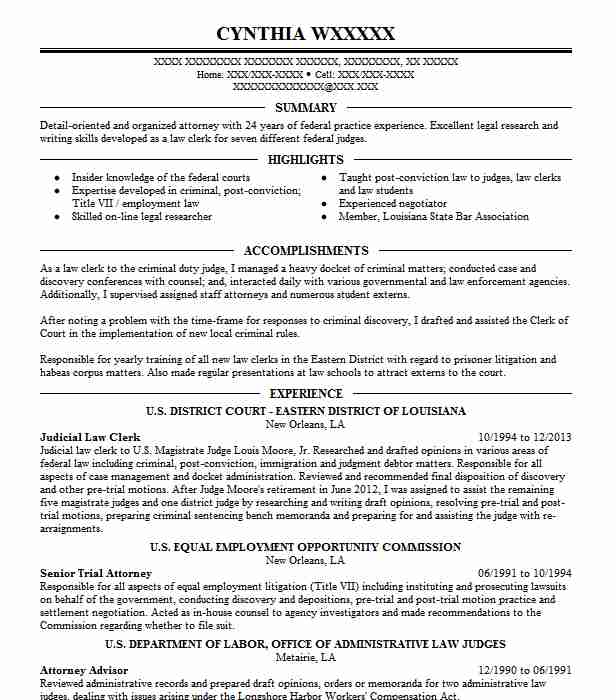 judicial law clerk resume example district court western of nashua new sample Resume Judicial Law Clerk Resume Sample
